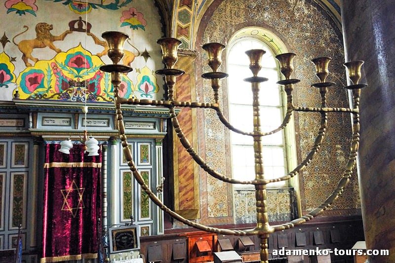 Хуст. Живописный Мараморош. Самая старая синагога Закарпатья