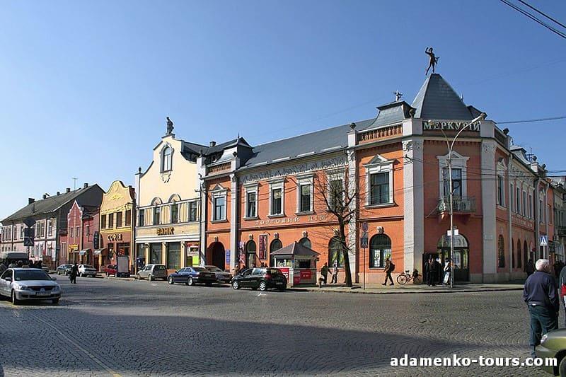 Мукачево, обзорная экскурсия. Дворец Грюгштейна