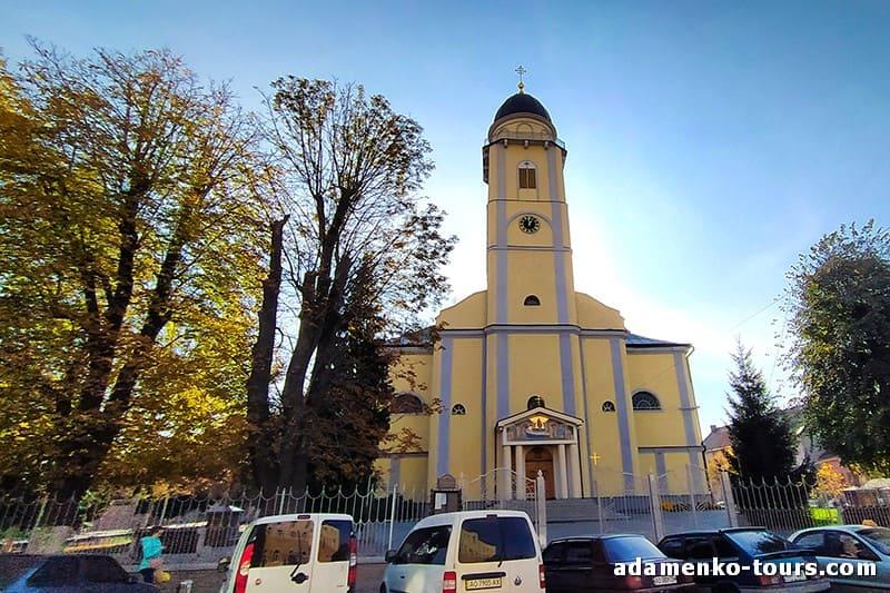 Мукачево, обзорная экскурсия. Успенская церковь