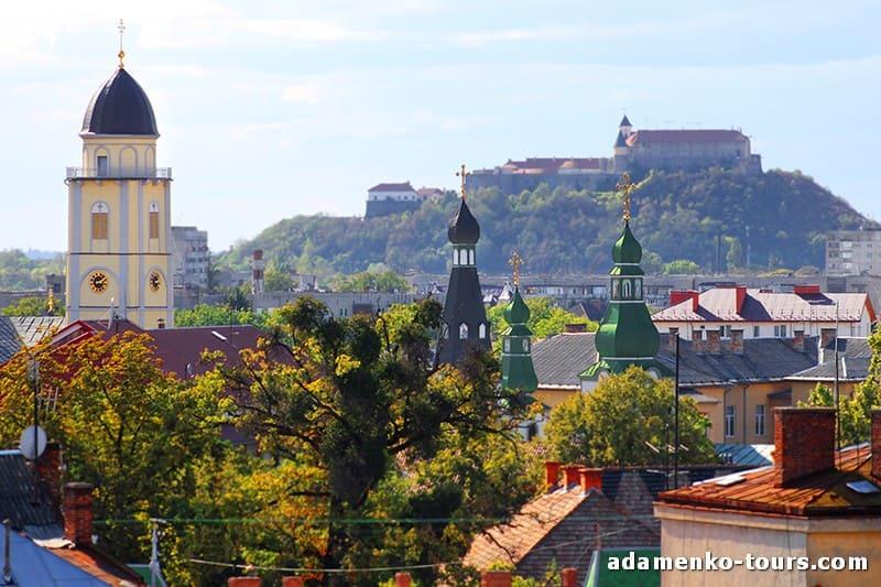 Мукачево, обзорная экскурсия. Замок Паланок