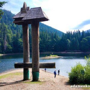 Озеро Синевир, водоспад Шипіт