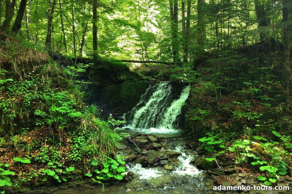 Лумшори чани і водоспади