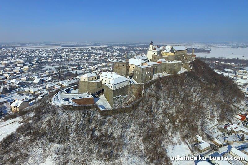 Замки Закарпатья. Паланок