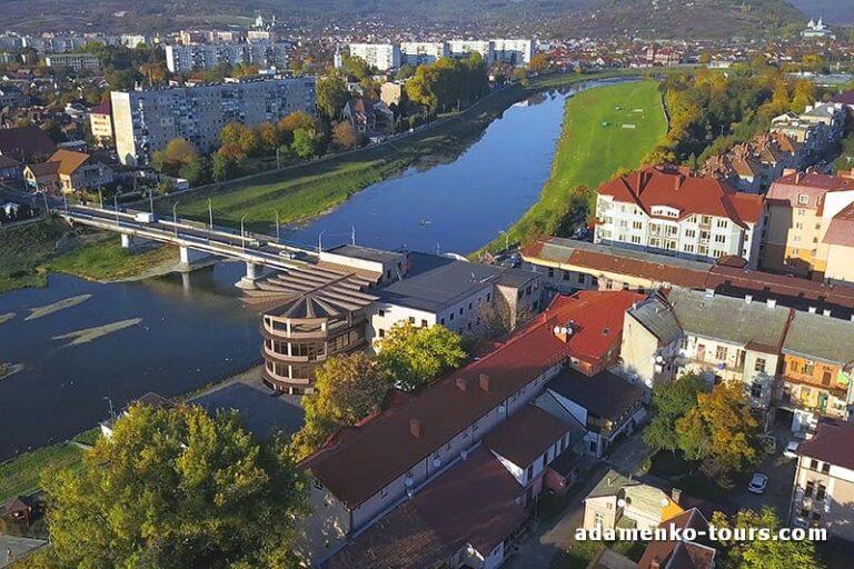 Старый мост Мукачева