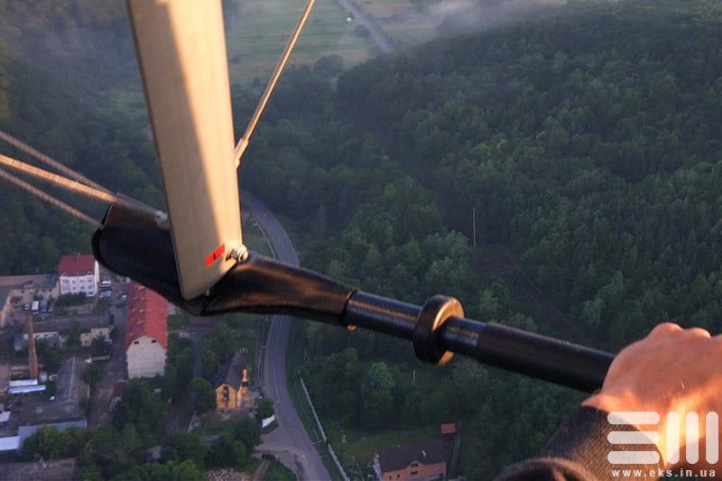 Політ на мотодельтаплані