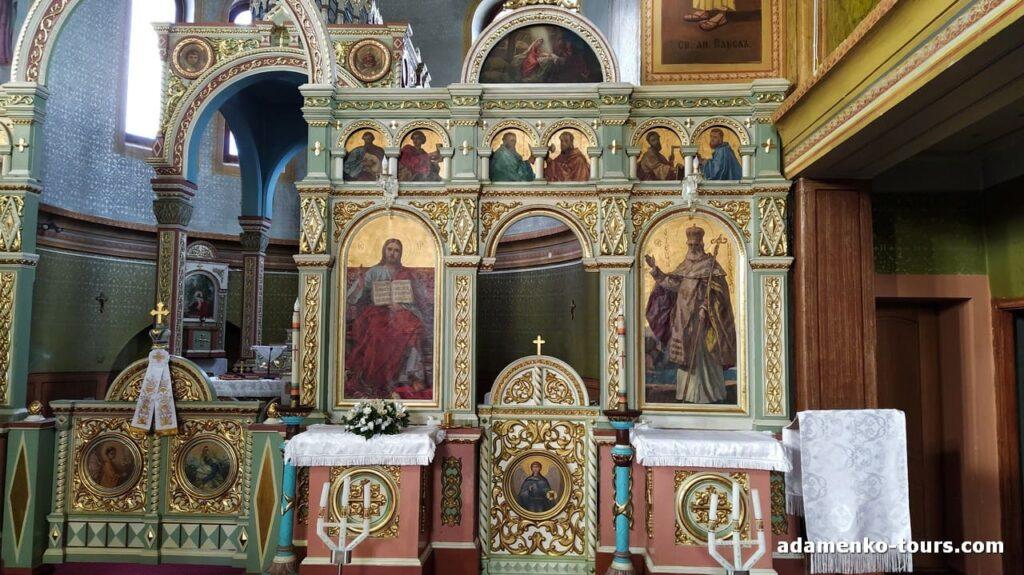 Доробратовская церковь. Иконостас. Бокшай