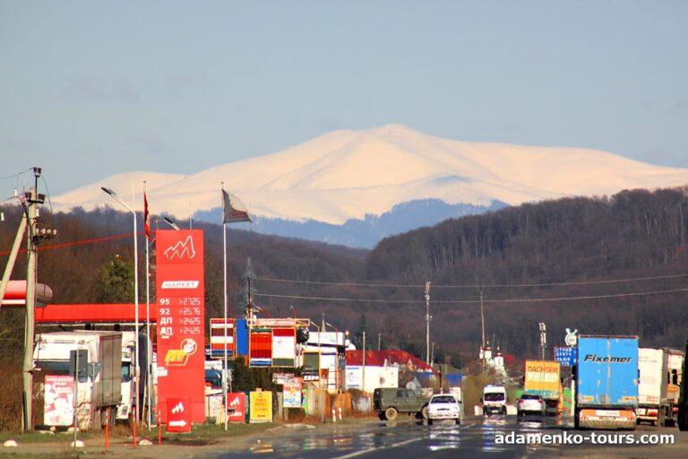 Полонина Боржава. Гора Стой.