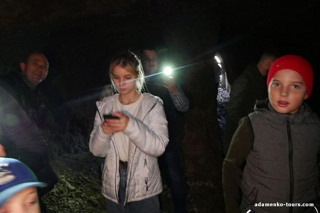 Белки. Пещера. Железорудная шахта.
