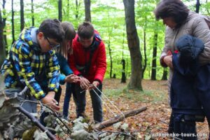Дитяча екскурсія Лісова школа